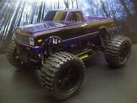 1972 Chevy C10 Custom 4X4 PRO BRUSHLESS 1/10 RC Monster Truck Waterproof 45+MPH