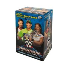 2018 Topps WWE Then, Now, Forever 10ct Blaster Box