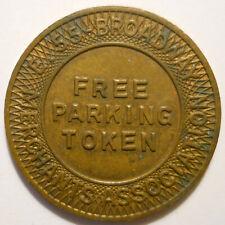 E. 55-Broadway Merchants Assoc. (Cleveland Ohio) parking token - OH3175K