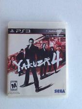 Playstation 3 Yakuza 4 Sega PS3 No Manual
