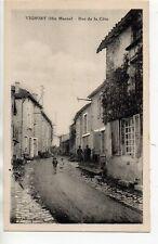 VIGNORY  Haute Marne CPA 52 la rue de la cote