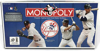 Monopoly New York Yankees Collector's Edition Board Game 2006 Complete NY Jeter