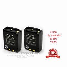 2 x 1.1Ah Cm-166 Battery for Icom Ic-A22 Ic-A3 Ic-A22E Ic-A3E Vhf Air Band Radio