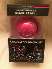 NEW Hype Mini Rechargeable Bomb Speaker with Included Micro USB Cable