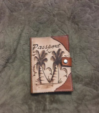 Passport Holder Travel ID Cards Case Cover Hand Made