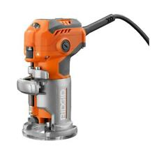 Ridgid 5.5 Amp Corded Compact Fixed-Base Router Ridgid # R2401