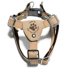 GOOBY Luxury Step-In Tan Harness Small Breed Dog Size Small
