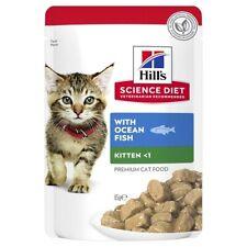 Hill's Science Diet Ocean Fish Kitten Wet Pouch 85g x12