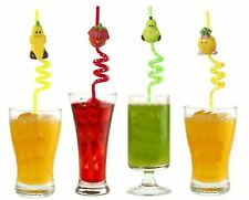 Assortiment de 2 Design paille boisson Cheeky Summer Fun fruits Party Decor Enfants