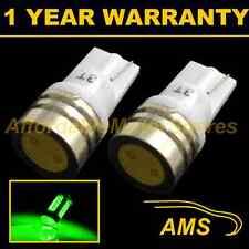 2x W5W T10 501 Verde Led de Alta Potencia SMD Luz Cortesía Interior Bombillas