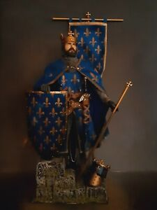 """12"""" CUSTOM PHILIP II, KING OF FRANCE, MEDIEVAL FRENCH KNIGHT  1/6 FIGURE IGNITE"""