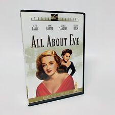 All About Eve (Dvd, 2002, Fox Studio Classics), Booklet Bette Davis Free Ship!🚛