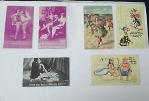 Vintage Risque Postcards MWM & IMR