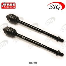 Front Left & Right Inner Tie Rod End for Cadillac Escalade ESV EXT 2002-2006 2Pc