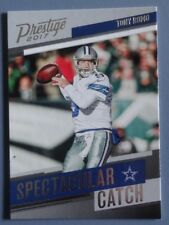 2017 Prestige Spectacular Catch Tony Romo #3 DALLAS COWBOYS Mint !
