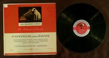 Furtwangler conducts Wagner LP His Master's Voice LHMV-1049