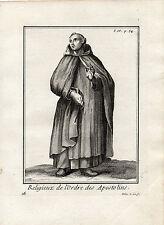 RELIGIEUX DE L'ORDRE DE L'ORDRE DES APOSTOLINS