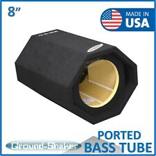 "8"" Single Ported Bass Tube 8"" Single ported / vented subwoofer Enclosure"