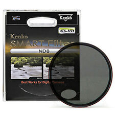 Kenko Slim Designed New Frame SMART Neutral Density ND8 Camera Lens Filter 52mm