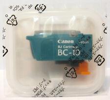 Canon BC-10 BC10 Genuine Black Cartridge. New & Sealed.