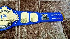 ULTIMATE WARRIOR WWF Classic Gold Winged Eagle Championship Belt Adult Size