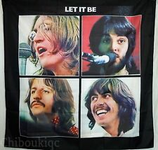 THE BEATLES Let it be HUGE 4X4 BANNER poster tapestry cd album cover art