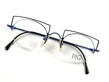 b008824335 FLAIR EyeQ Brille 800-788 Crazy Small Reading Glasses Round Half Rim Eye  Frame