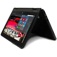 Lenovo Laptop Convertible Yoga Quad Core CPU HD Touchscreen Refurbished Computer