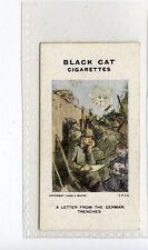 (Jc8759-100)  CARRERAS,RAEMAKERS WAR CARTOONS,A LETTER FROM THE GERMAN,1916,#28
