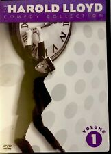 The Harold Lloyd Comedy Collection Vol 1, Dvd, 2-Disc Set, Like New, Free Ship!