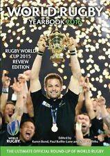 World Rugby Yearbook 2016 - Official Rugby Union book - IRB Rugby World Cup book