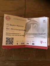 Sammlerticket FC Bayern München - Borussia  Mönchengladbach 7. Spieltag 6.10.18