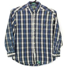 Baxter Clothing Co Mens Button Up LS Collared Shirt Size Medium Multicolor Plaid