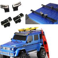 Car Roof Rack Kayak Mount Set für 1:10 SCX10 D90 TRX-4 RC4WD UDR RC Crawler Auto