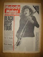 MELODY MAKER 1977 JUN 18 PETER FRAMPTON BEACH BOYS RODS