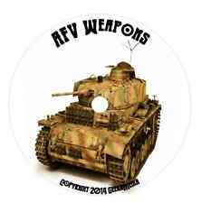 Armored Fighting Vehicles of WWI WWII in Profile 65 Vol CD DVD WW2 tank afv
