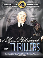 Alfred Hitchcock Thrillers - The Man Who Knew Too Much/Secret Agent/The Lady Va