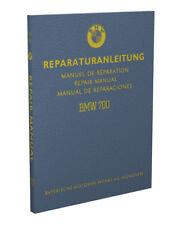 BMW 700 Car Shop Manual 1965 1964 1963 1962 1961 1960 1959 LS Repair Service