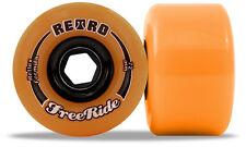 RETRO Freeride - 72mm 86a Orange Roues De Longboard Slidewheels