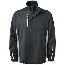 NWT BOBBY JONES Golf Wind Rain jacket XL Black water resistant H20 lightweight