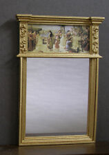 TRUMEAU - MIRROR  ~ SCENE  ~  Handcrafted ~  Dollhouse Miniature ~ Room Box