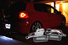 LED Number License Plate Light Lamp fit VW GOLF mk5 mk4 mk6 R32 scirocco canbus