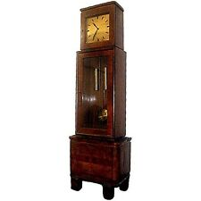 Beautiful Art Deco Tall Case Clock #4654