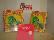 Harcourt Storytown Grade 1 Teacher edition / student & workbook Theme 3 2008 G
