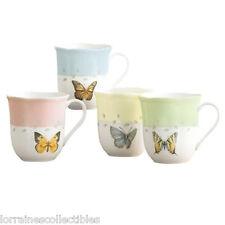 Lenox Butterfly Meadow Mugs, SET OF 4 NEW