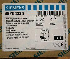 Siemens 5SY6-332-8, 32 Amp, 3 Pole, Circuit Breaker - 5SY63328 - NEW