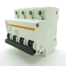 Mini Circuit Breaker 4 Pole 32A 400V C32 DZ47-63 LXCM45-63 Overload Protection