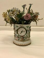 Unusual Antique Chinese Export Porcelain Clock Holder and Vase/Cachepot, ca 1770