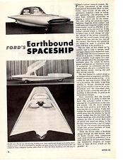 1961 FORD GYRON DREAM CAR ~ NICE ORIGINAL ARTICLE