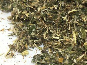 Mugwort & Raspberry Leaf 75g ORGANIC  Herbal herb Infusion Tea Smoking